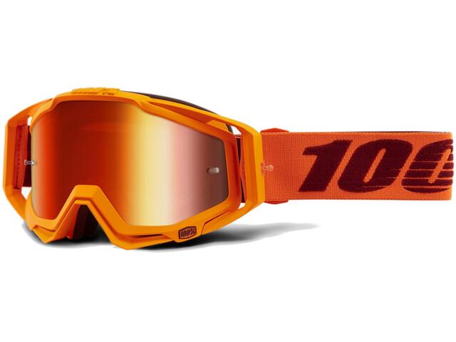 100% Racecraft Anti Fog Mirror - Masque - orange